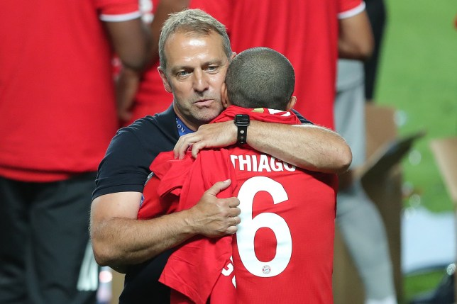 Thiago was a key part of Hansi Flick's side that won the treble last season