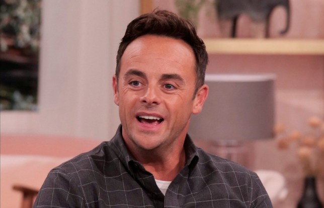 Anthony McPartlin on 'This Morning' TV show, London, UK - 01 Sep 2020