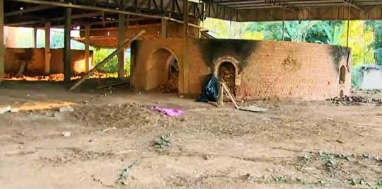 La scène du crime à Canelinha où Flavia Godinho Mafra a été tué.  (Newsflash).