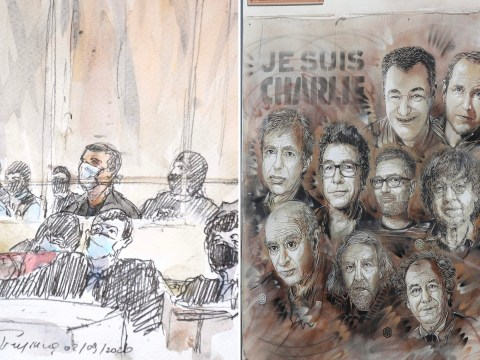 Trial of 14 suspects over Charlie Hebdo attack begins under tight security