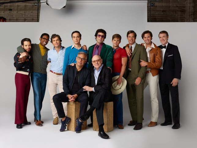cast of boys of the band