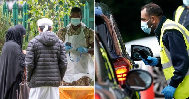 UK to trial weekly mass coronavirus testing (Picture: Getty, PA)