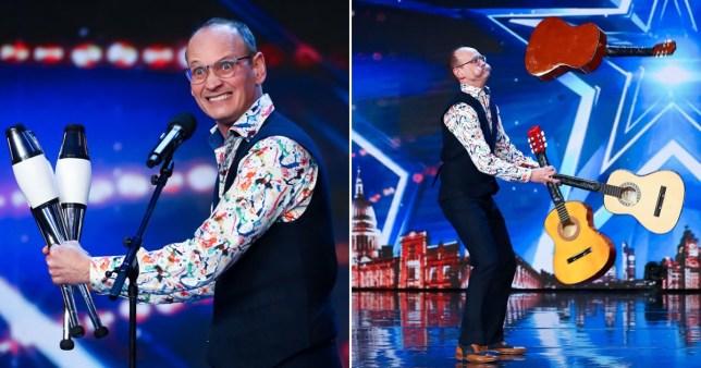 Exclusive - BGT's comedian Steve Royle will include coronavirus jokes in semi-final PICS: Rex