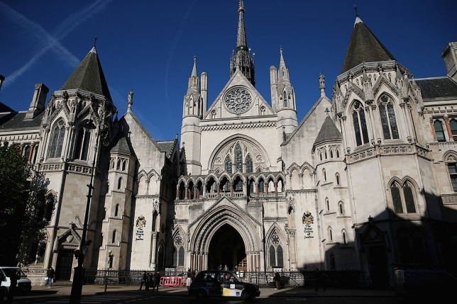 A general view of The Royal Courts of Justice on October 30, 2013 in London, England.