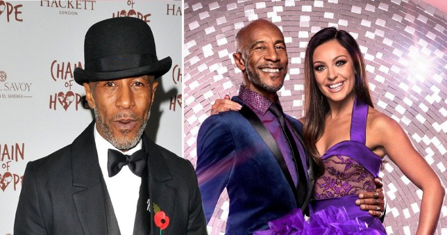 Danny John Jules claims Strictly cut reason behind 'difference of opinion' with Amy Dowden from show