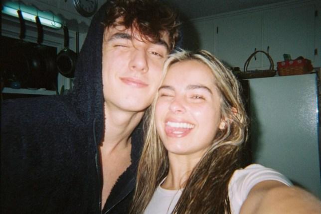 Addison Rae and Bryce Hall