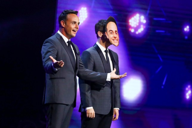 Strict Embargo - not to be published before 00:01 GMT Saturday 5th September 2020 - Editorial use only. No book publishing. Mandatory Credit: Photo by Dymond/Thames/Syco/REX (10765684p) Ant and Dec 'Britain's Got Talent' TV Show, Series 14, Episode 10, Semi Final 1, UK - 05 Sep 2020