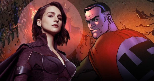The Boys season 2: Why was Stormfront gender-swapped? Eric Kripke reveals how Homelander changed the game (Picture: Rex, Dynamite Entertainment)