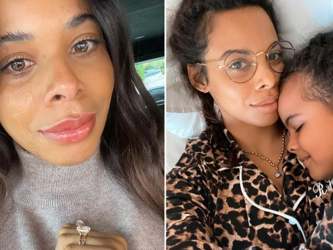 Rochelle Humes shares tearful selfie and emotional post about her daughter: 'Being a parent is never easy'