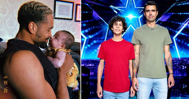 BGT father and son trick involves Ashley Banjo and his son