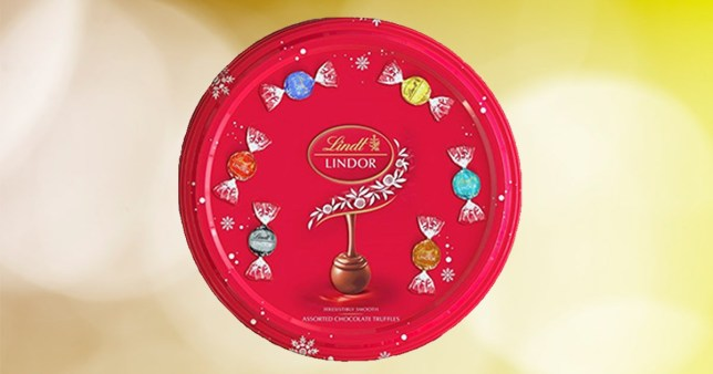 The Lindt tub