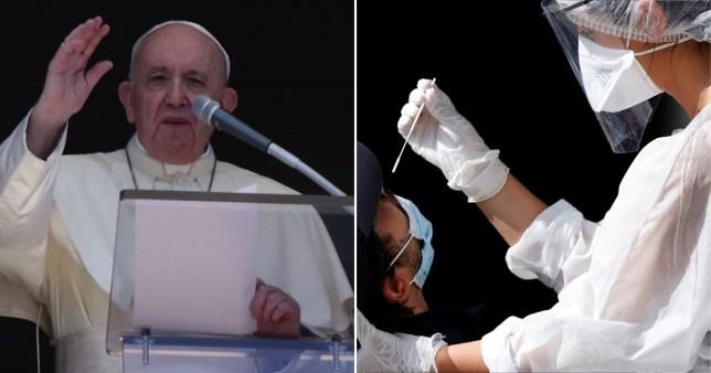 Le pape dit que répandre des ragots est pire que le coronavirus