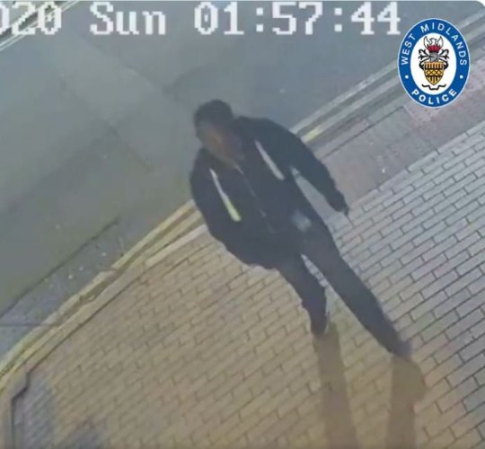 #BREAKING | This is the first footage of a man we want to speak to after last night's murder and stabbings in #Birmingham.