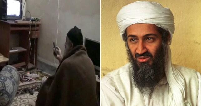 Image of Osama bin Laden's secret compound in Osama bin Laden 'hid encrypted messages in porn'