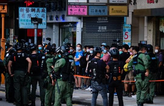 Plus de 200 personnes ont été arrêtées dimanche
