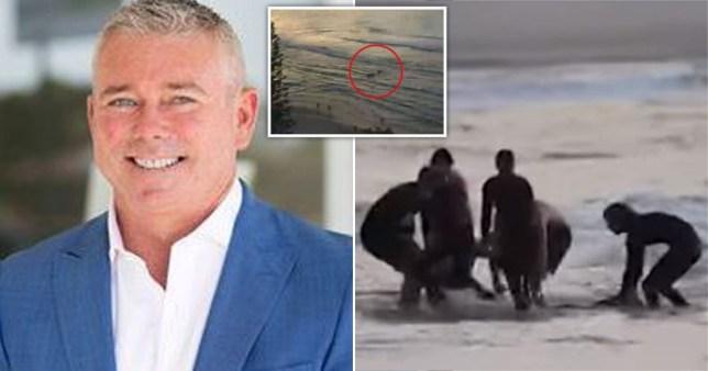 Les images de la caméra de plage ont capturé le moment où Nick Slater a été mutilé à mort par un requin sur la Gold Coast en Australie.