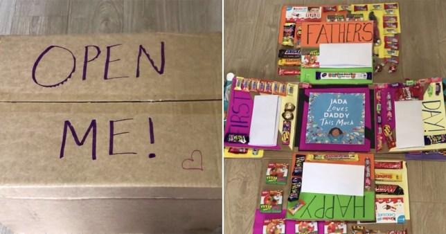 a Mum's brilliant delivery box present