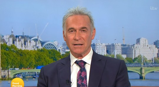 Dr Hilary Jones on Good Morning Britain