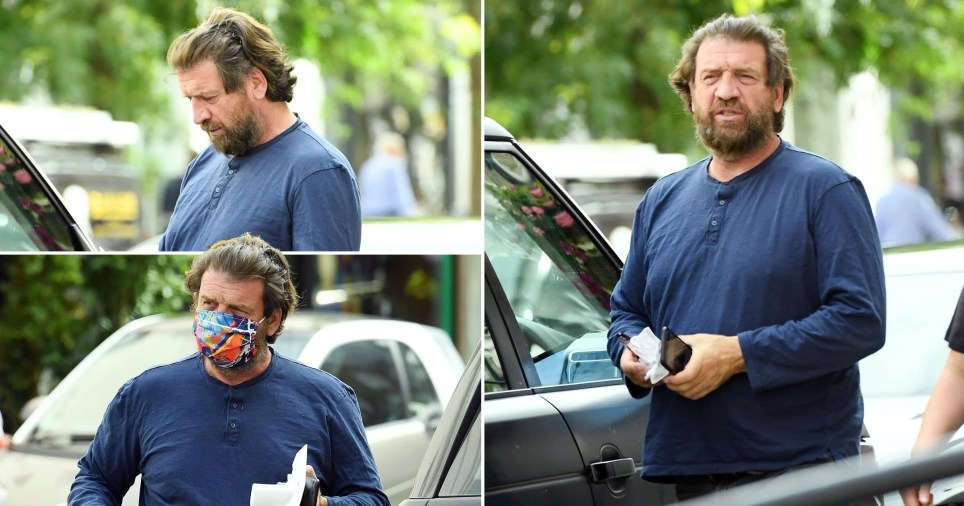 Nick Knowles unrecognisable (Picture: Topstar, Backgrid)