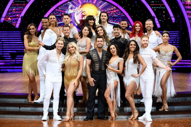 Jake Leigh, Graziano di Prima, Robbie Kmetoni, Joshua Keefe Mandatory Credit: Photo by David Fisher/REX (10526834bf) Catherine Tyldesley and Johannes Radebe, Luba Mushtuk, Jake Leigh, Mike Bushell and Katya Jones, AJ Pritchard and Saffron Barker, Emma Barton and Graziano Di Prima, Robbie Kmetoni, Kelvin Fletcher and Janette Manrara, Amy Dowden and Karim Zeroual, Dianne Buswell, Joshua Keefe, Alex Scott and Neil Jones and Karen Clifton 'Strictly Come Dancing' Live Tour photocall, Birmingham, UK - 15 Jan 2020