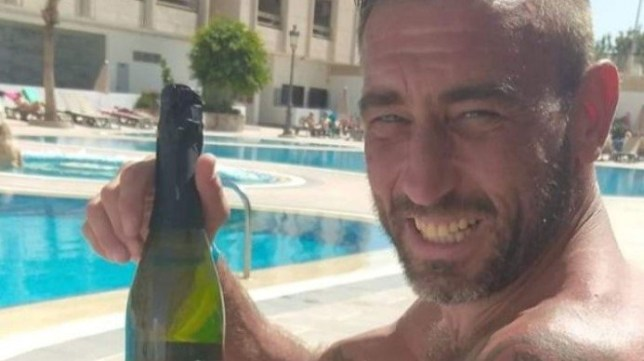 A BRITISH grandad cried out ?I can't feel anything? after breaking his neck in a freak pool accident on holiday. Chris Watkins, 43, was on a lads? trip away in Tenerife when he dived into a pool and injured himself - but his friends initially thought he was joking.