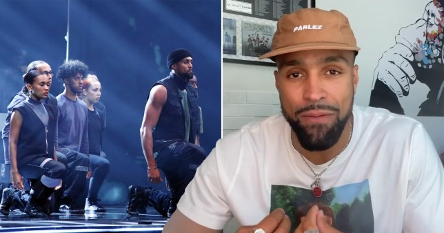 Ashley Banjo breaks silence over BLM dance routine on BGT