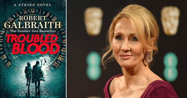 JK Rowling fans outraged over transvestite serial killer character