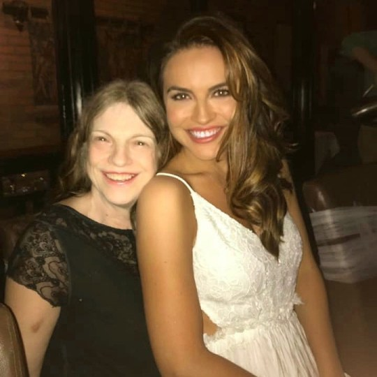 Chrishell Stause and her mother