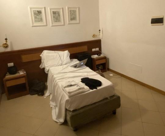 Hôtel Bonifacio, une installation de quarantaine à Florence