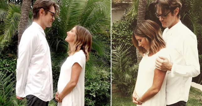 Ashley Tisdale is pregnant
