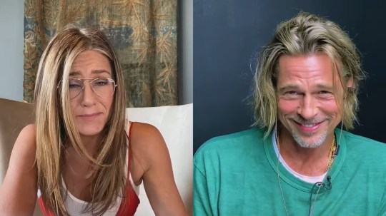 What Brad Pitt and Jennifer Aniston were thinking during awkward table read as body language expert gives lowdown
