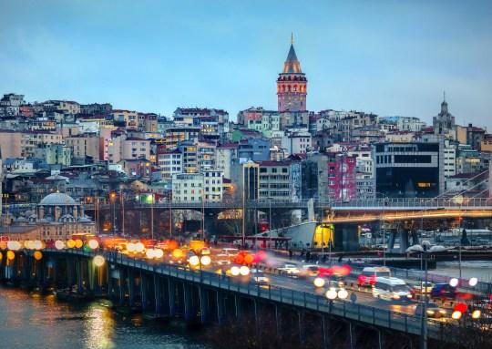 Vue générale d'Istanbul, Turquie