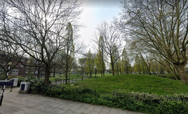 A woman was found dead with self-inflicted knife injuries in Westbourne Park in London.