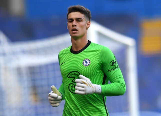 Kepa Arrizabalaga made another error as Chelsea were beaten by Liverpool