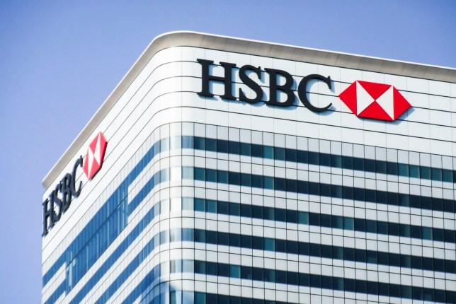 Photograph of HSBC headquarters