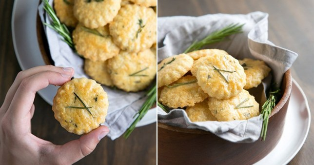The basic biscuit is made with just three things and you can add extra flavours