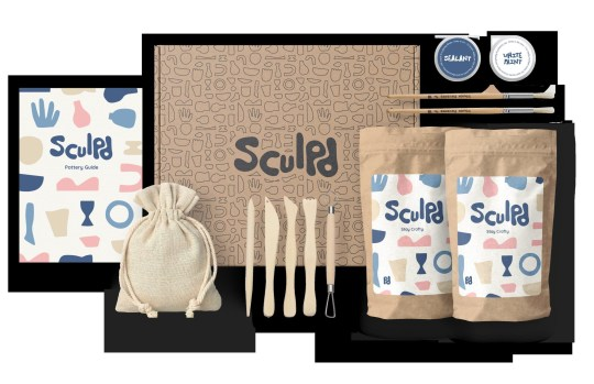 Sculpd Pottery Kit, £39, Sculpd. Buy it with the Ownable app.