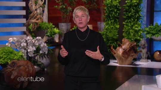 Ellen DeGeneres reveals talk show will not shoot on election day