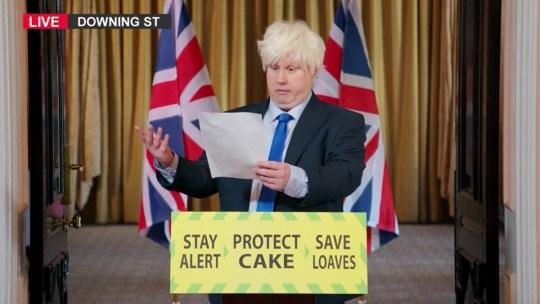 Matt Lucas on Great British Bake Off Picture: Channel 4
