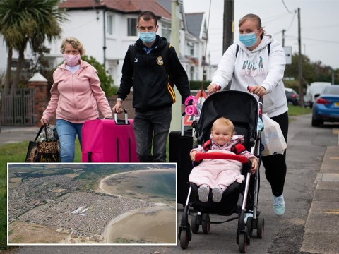 Families given hours to leave as lockdown shuts UK's biggest caravan park