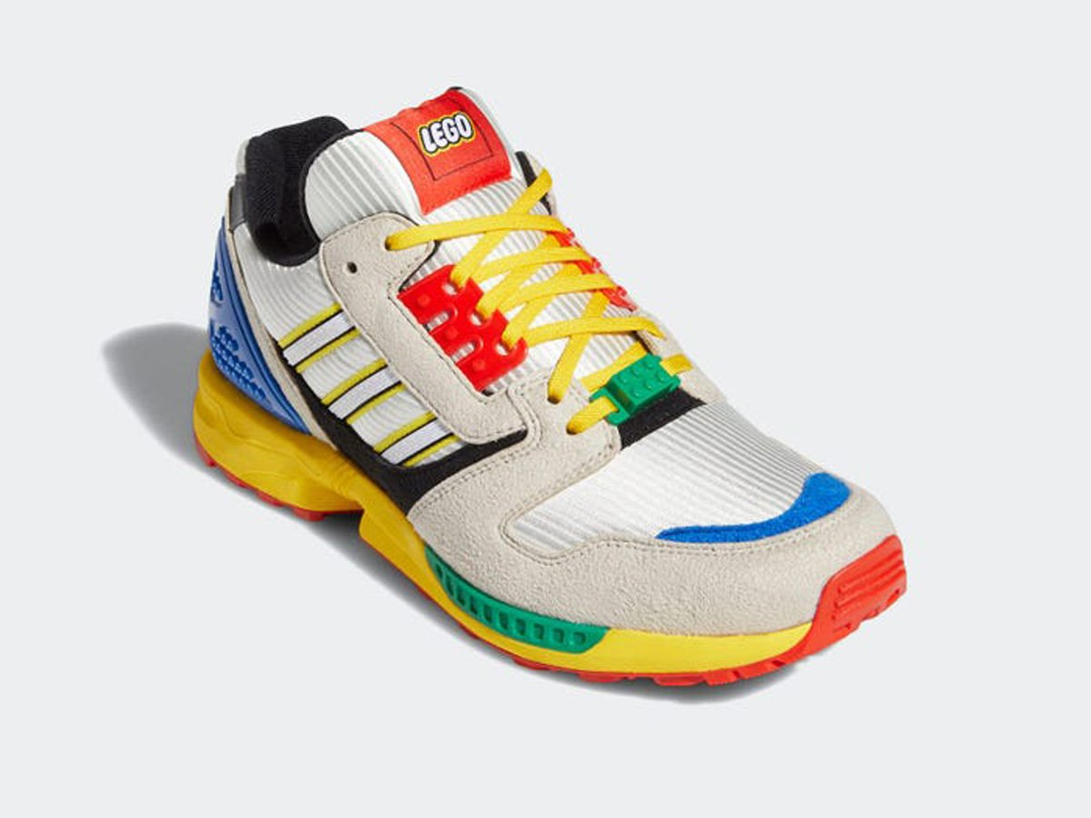 Adidas x Lego colourful sneakers