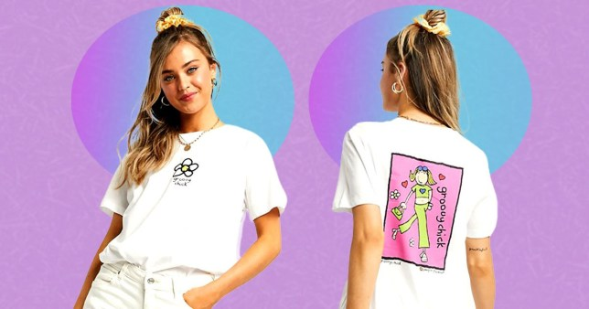 Groovy Chick is back, on Asos