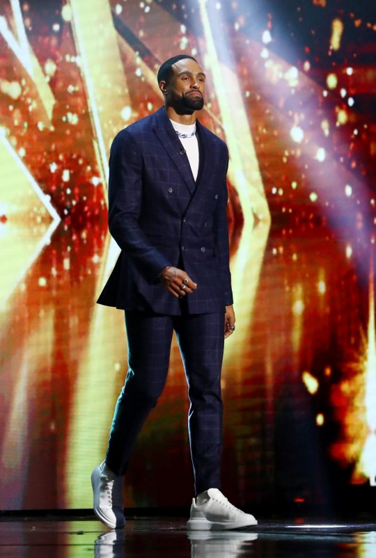 STRICTLY EMBARGOED, NO USE BEFORE 00.01am BST Saturday 26th September. Editorial use only. No book publishing. Mandatory Credit: Photo by Dymond/Thames/Syco/REX (10790225bj) Ashley Banjo 'Britain's Got Talent' TV Show, Series 14, Episode 12, Semi Final 4, UK - 26 Sep 2020