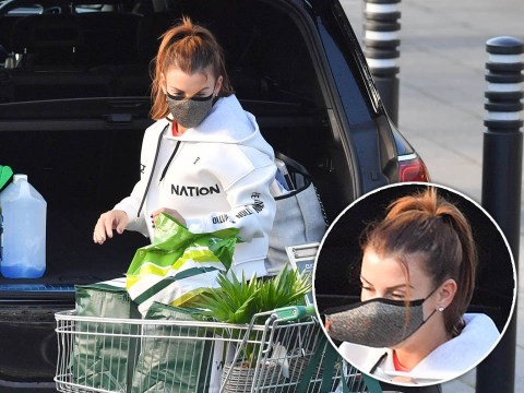 Coleen Rooney's all stocked up in case of another lockdown as she heads to Waitrose