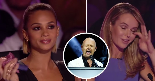 BGT: Alesha and Amanda sobbing after comedian pays tribute to late father in semi-final