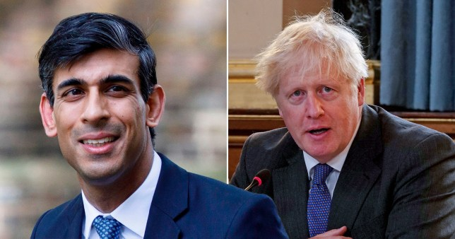 Boris ditched plan for national lockdown 'over fears Rishi would quit'