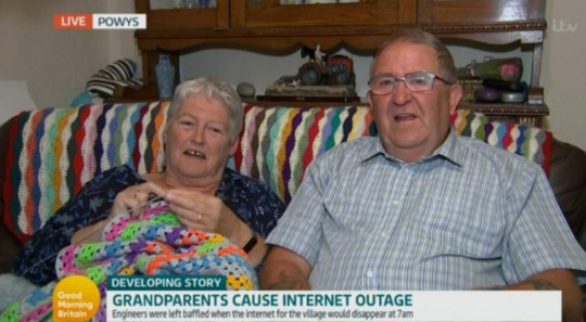 Couple whose TV wiped out internet for entire village for 18 months get new flatscreen