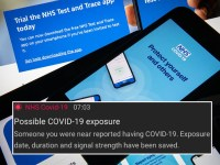 Confusion for people notified by NHS app