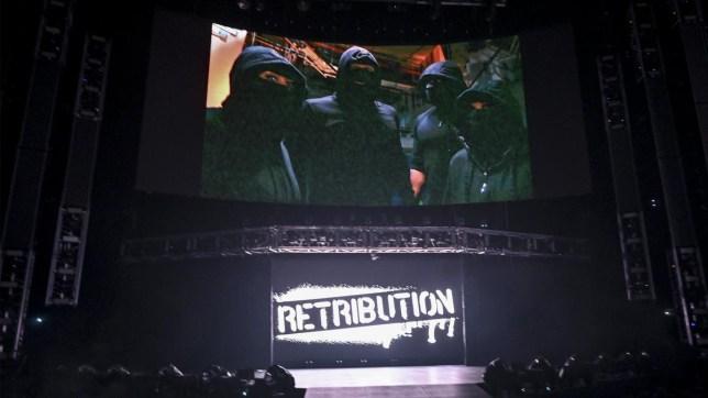 WWE faction RETRIBUTION on Raw