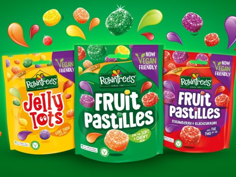 Rowntree's changes Fruit Pastilles recipe as whole range goes vegan for first time